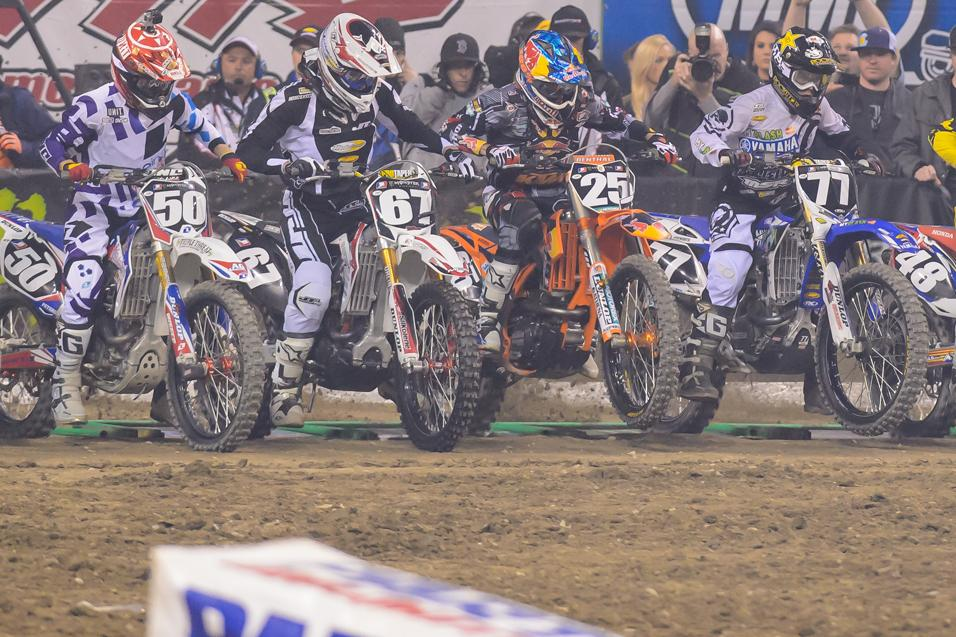 What was the biggest 250SX surprise in Indy?