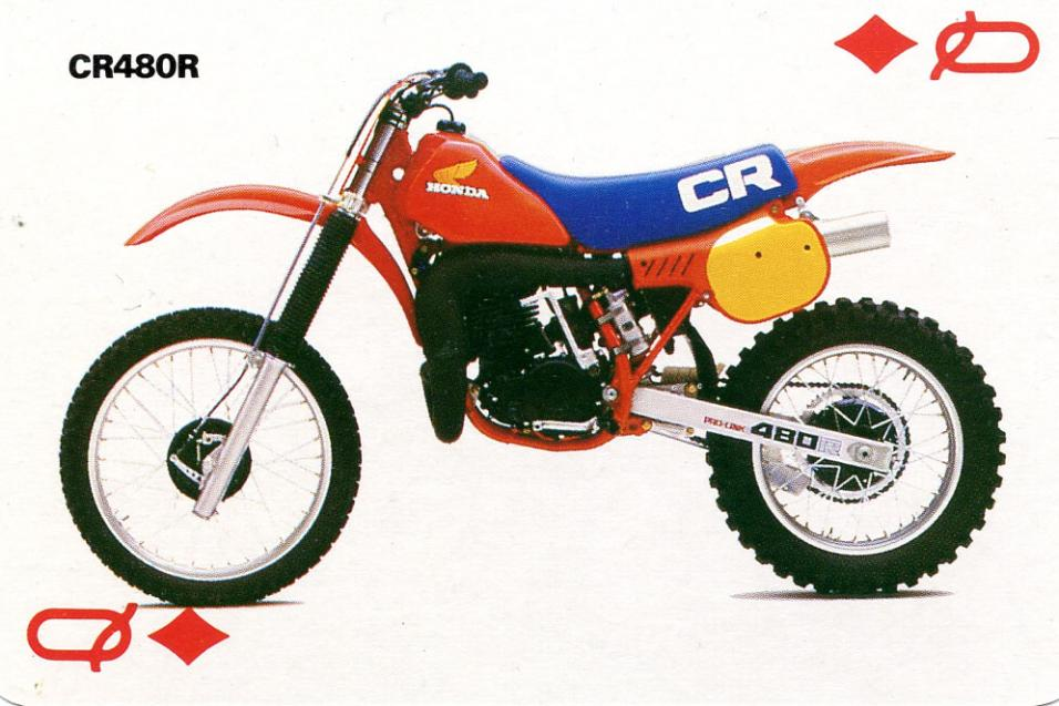 <strong>The List:</strong> Motocross<br /> Trading Cards