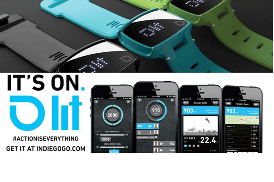 Action-Inspired Activity Tracker on Indiegogo