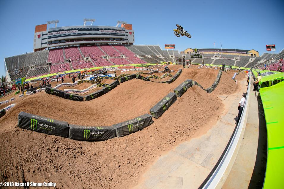 Salt Lake SX Practice Gallery