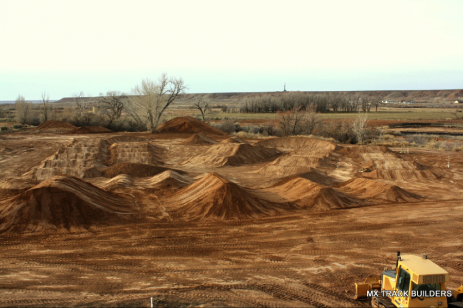Supercross Track Built at Moto Ranch - Racer X Online