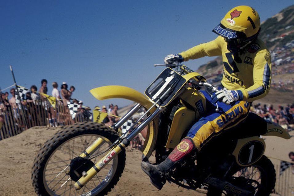 30 Greatest   AMA Motocrossers:  #14 Mark Barnett