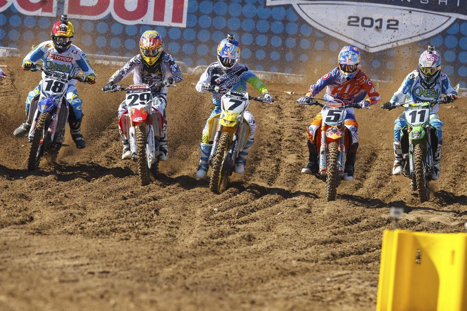 2013 Motocross TV  Schedule Announced