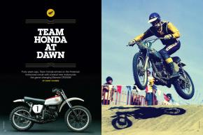 TEAM HONDA AT DAWN