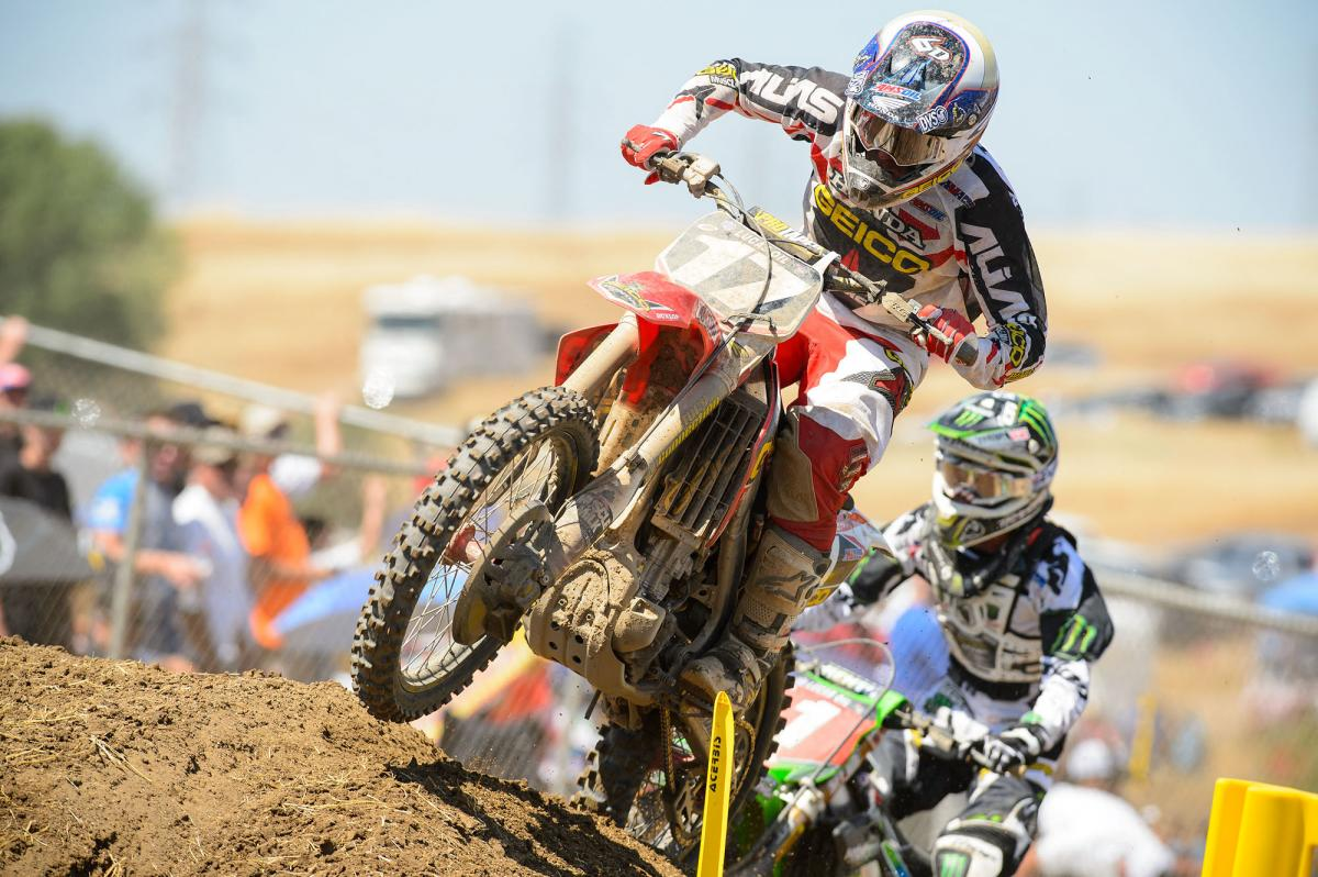 Eli Tomac and Blake Baggett