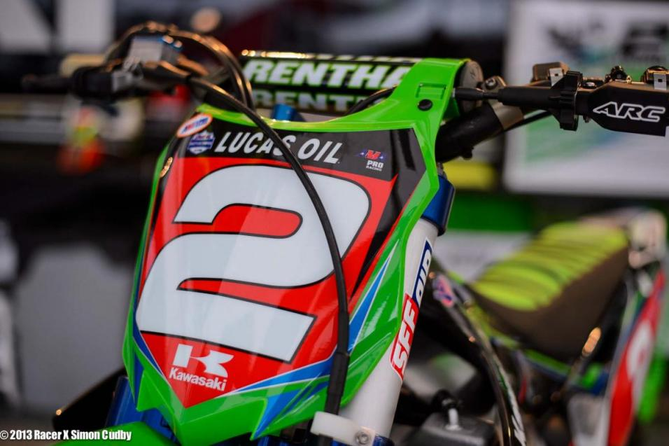 High Point 450 Moto 2 Report