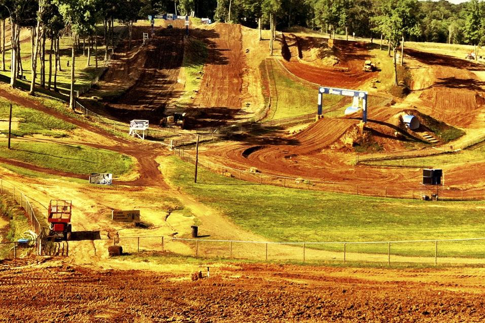 Budds Creek Animated Track Map