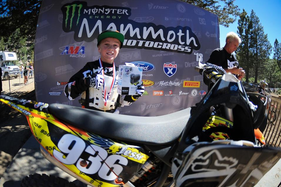 Daily Report: Mammoth<br /> Motocross, Mini Day 2