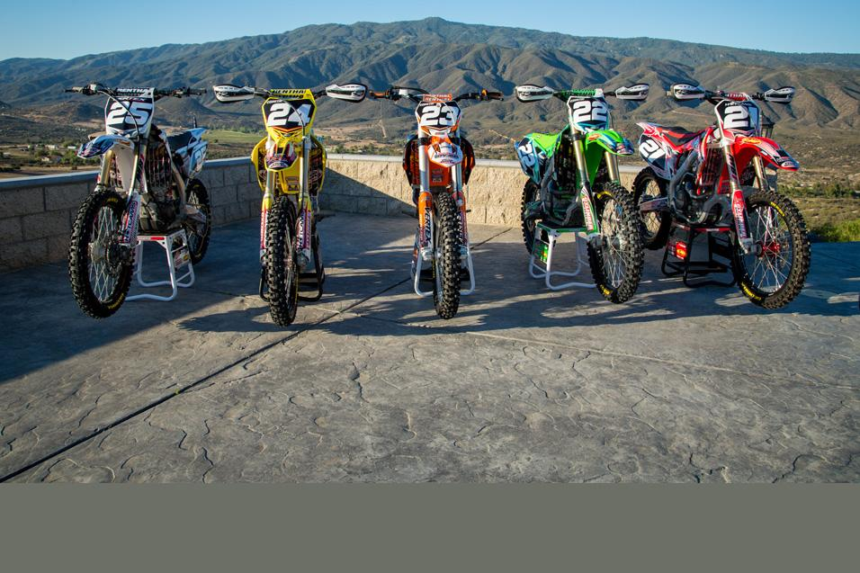 Racer X Tested: 250F  Big Bore Shootout