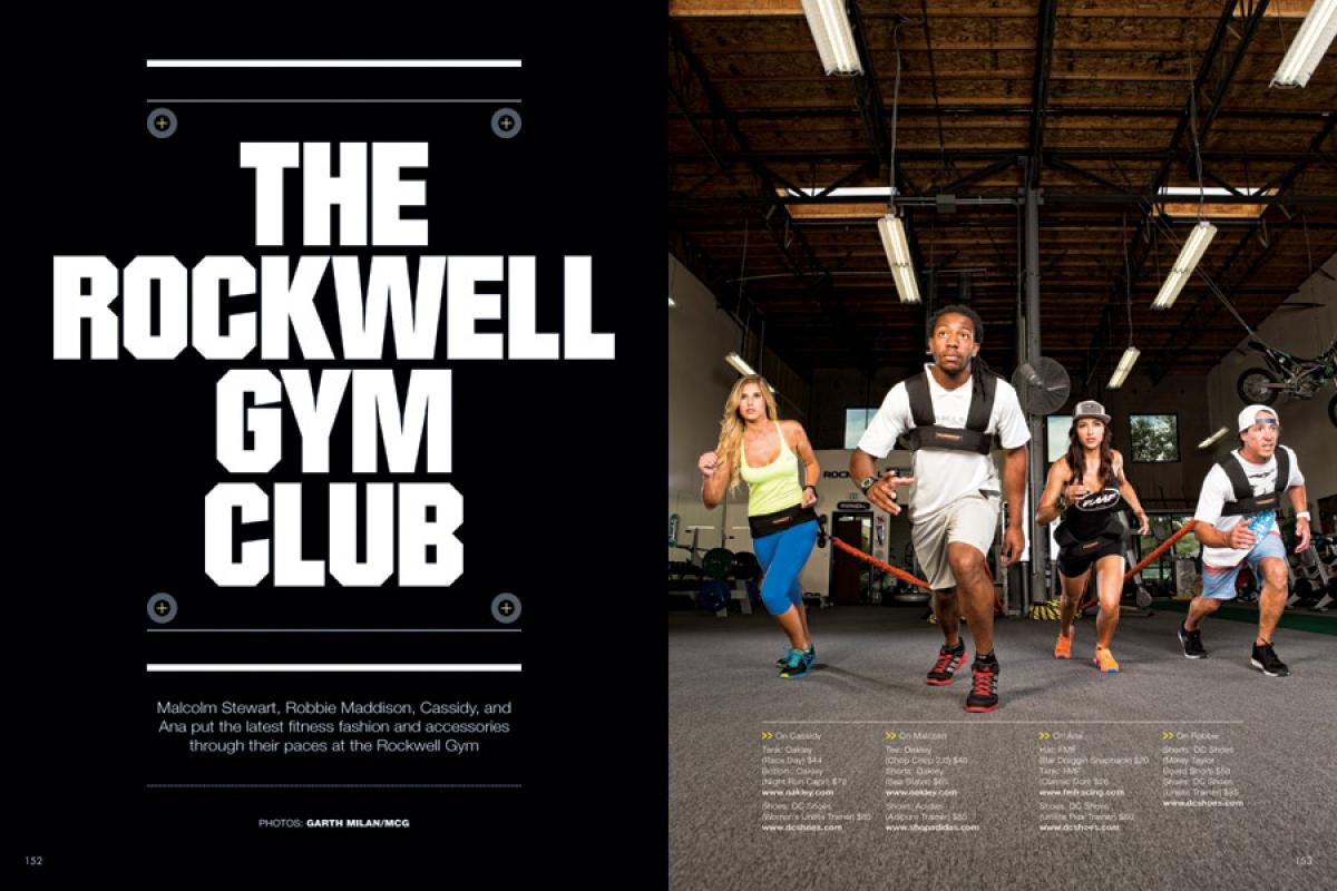 THE ROCKWELL GYM CLUB