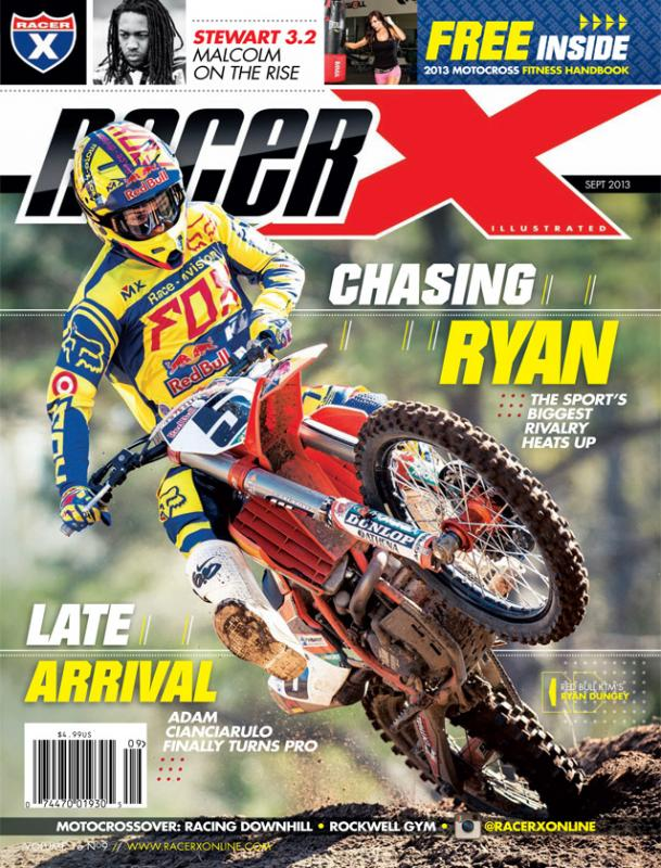 The September 2013 Issue - Racer X Illustrated Motocross Magazine