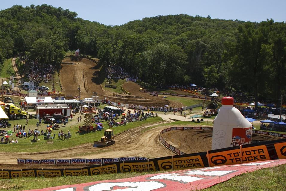 Millville Animated Track Map