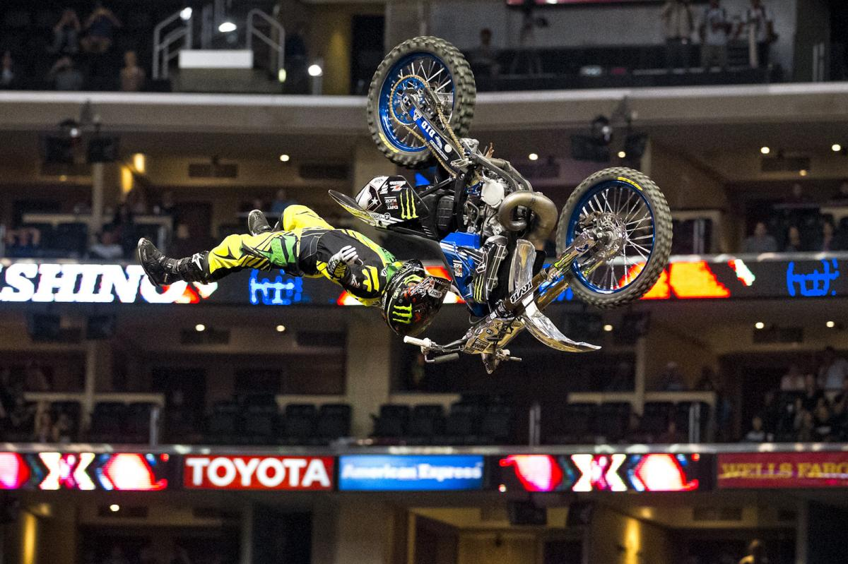 Taka Higashino was unstoppable once again in the Staples Center. With no Best-Trick event this year, Taka decided to make his entire run full of incredible, best-of-the-best jumps that the left both the judges and the crowd with little doubt as to who would be the winner.