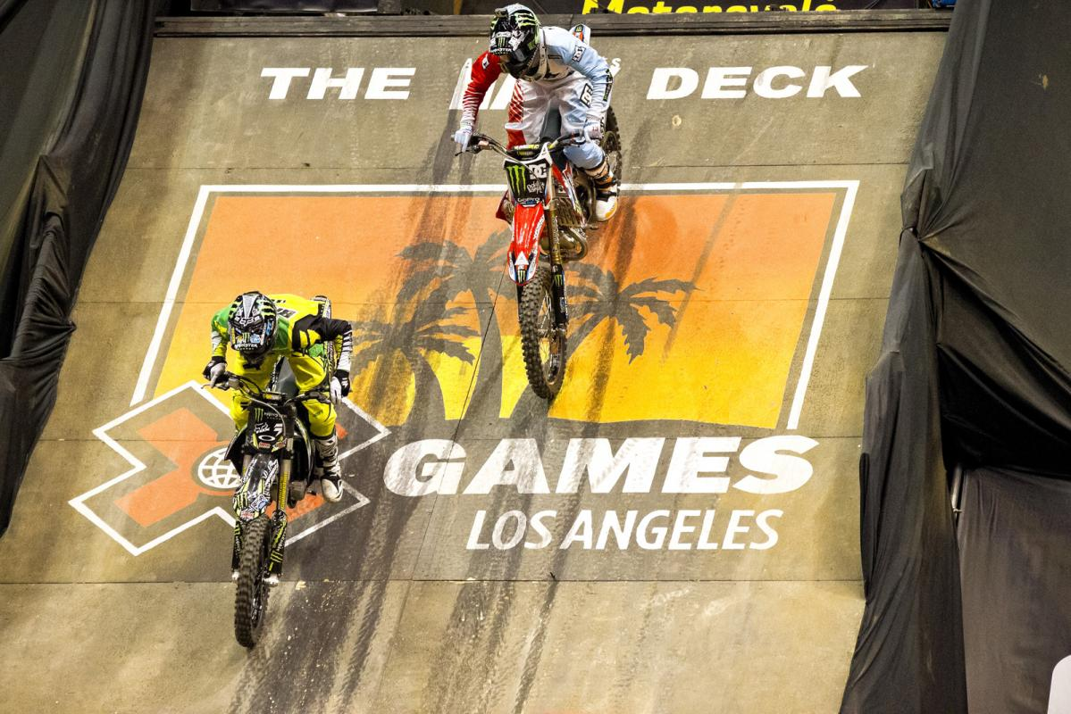 The finals kick off between Bilko and Adams. Although it was important to get the holeshot, Adams proved that it wasn't necessary to pull off a win.