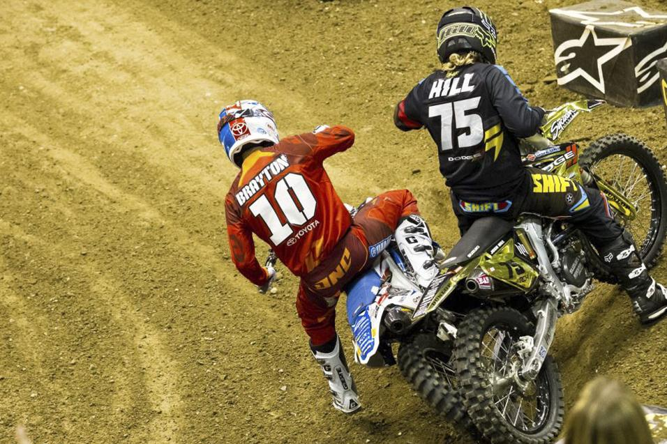 Between the<br /> Motos: Justin Brayton