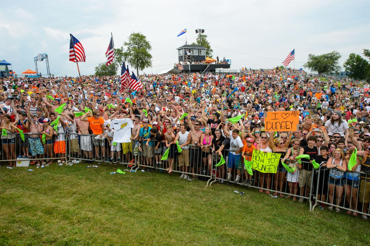 Fans from the 2013 Red Bull RedBud National