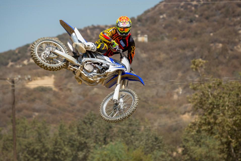 Racer X Tested:  2014 YZ250F
