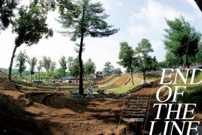 One of the series' most storied rounds, the Southwick National at Massachusetts' Moto-X 338 threw itself a fitting farewell party in July. Page 106.