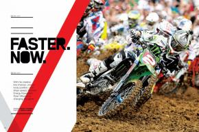 Every now and then, a rider completely changes the way motocross bikes are raced—Hannah, O'Mara, McGrath, Carmichael, Stewart … and now Ryan Villopoto. Page 118.