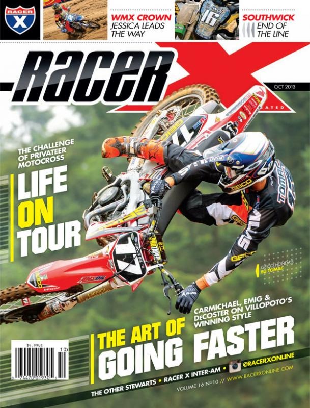 The October 2013 Issue - Racer X Illustrated Motocross Magazine
