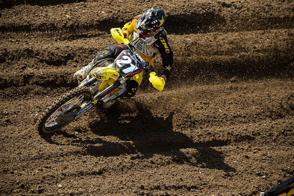 Going for the  W: Jason Anderson