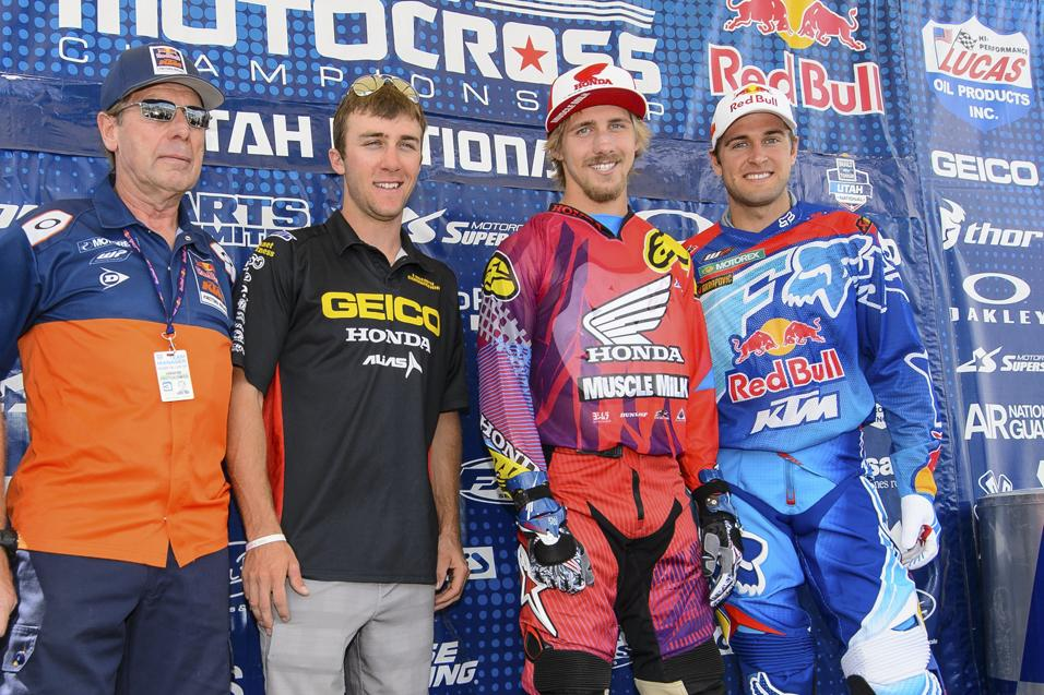 Between the  Motos: Team USA