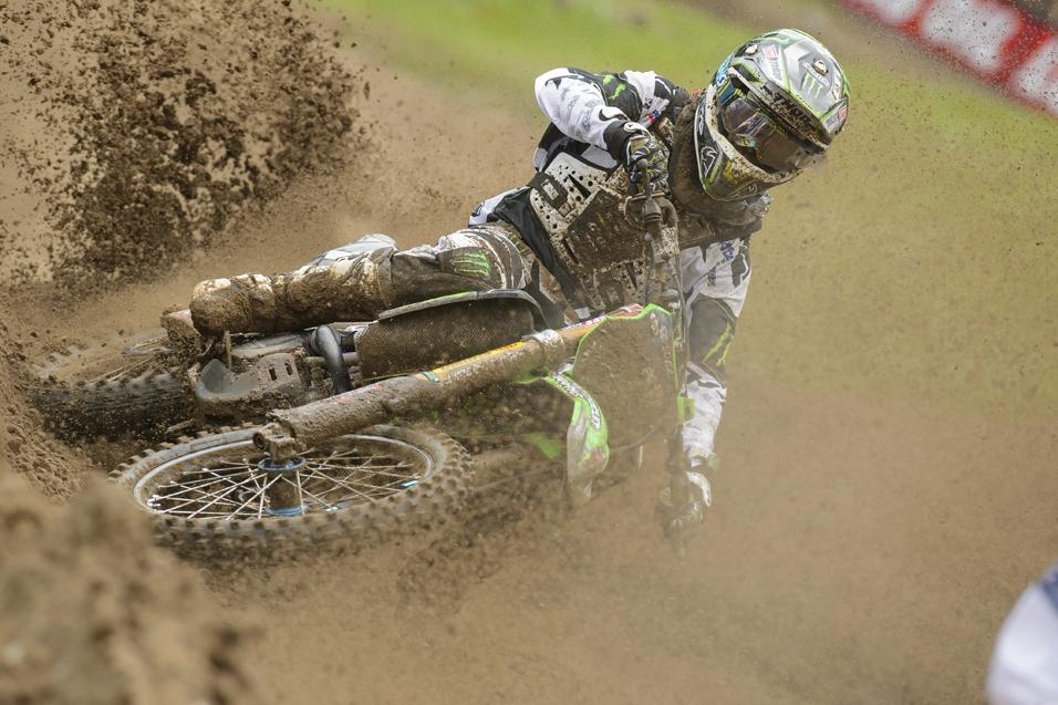 Going for the<br /> W: Blake Baggett