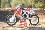 Racer X Tested: 2014  Honda CRF250R