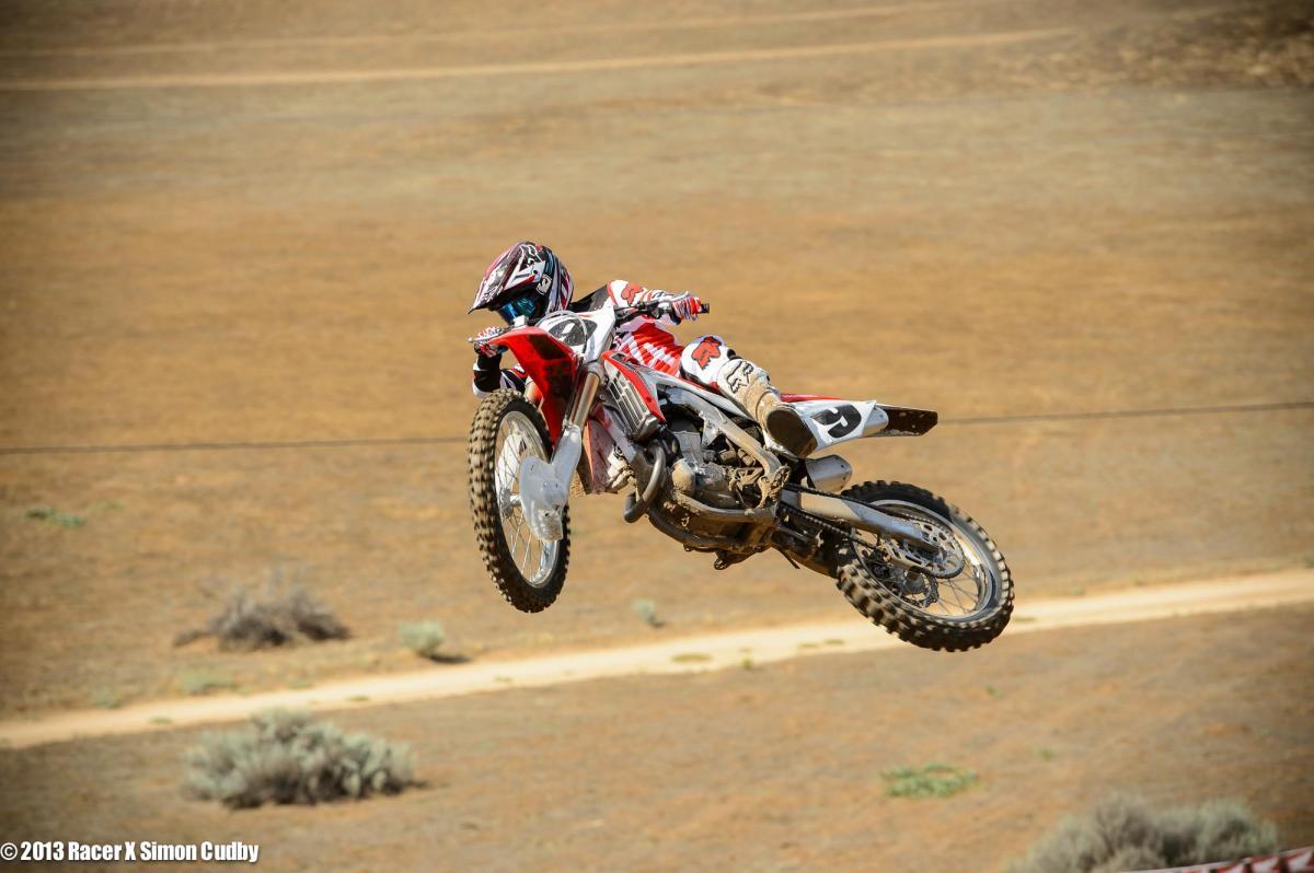 Ivan Tedesco- 2014 Honda CRF450R