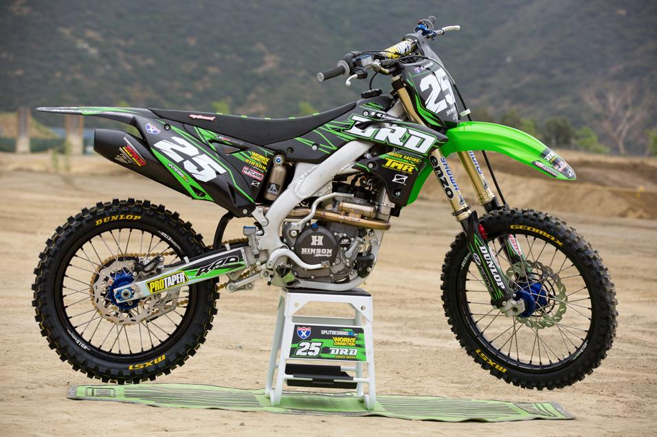 Racer X Tested:  Dr. D 2013 KX250F
