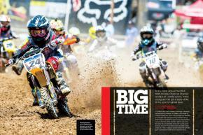At the 32nd Annual Red Bull AMA Amateur National Championships at Loretta Lynn's, riders young and old got a taste of life at the sport's highest level. Page 104.
