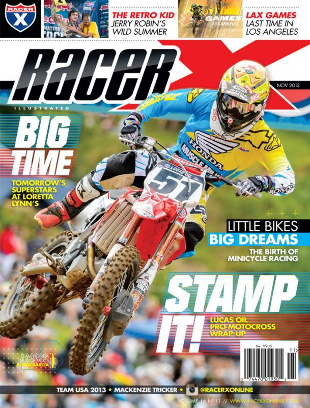 The November 2013 Issue - Racer X Illustrated Motocross Magazine