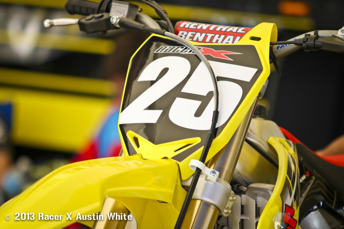 2014 Suzuki RM-Z250 Intro