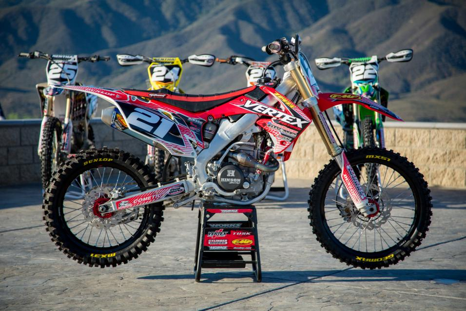 Racer X Tested:  2013 CRF250R Big Bore