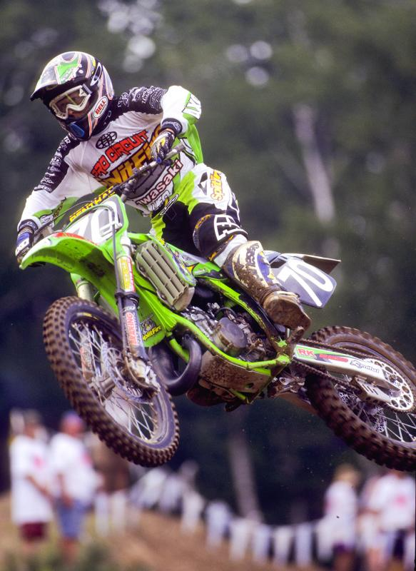 Ricky Carmichael on the #70 1997 KX125. This changed it all.