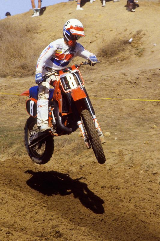 Jim Gibson in 1982, when the Honda juggernaut was just about to take over. You remember the days of Follow the Leader?