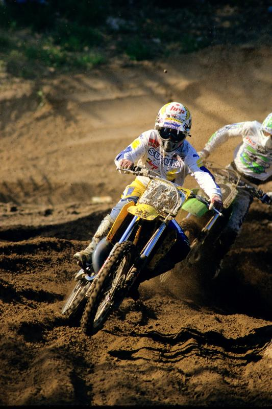 Hannah in '87. He was old by then, but still nearly won Southwick!