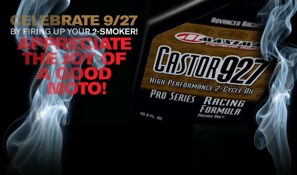 With Maxima's 927 a pre mix staple, we decided to dial up some classic smoker pics for September 27th!