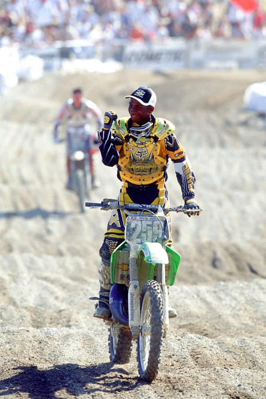 James Stewart's 125 success marked the last days of two stroke glory. Bubba reached the absolute pinnacle of the 125 two-stroke.