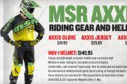 TGI Freeday! MSR Axxis Gear & Helmet!