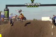 Video: Eli Tomac Crash at MXoN