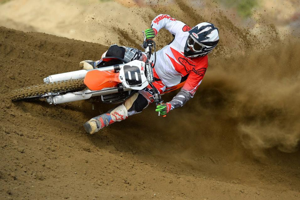 Racer X Tested: 2014  KTM 350 SX-F