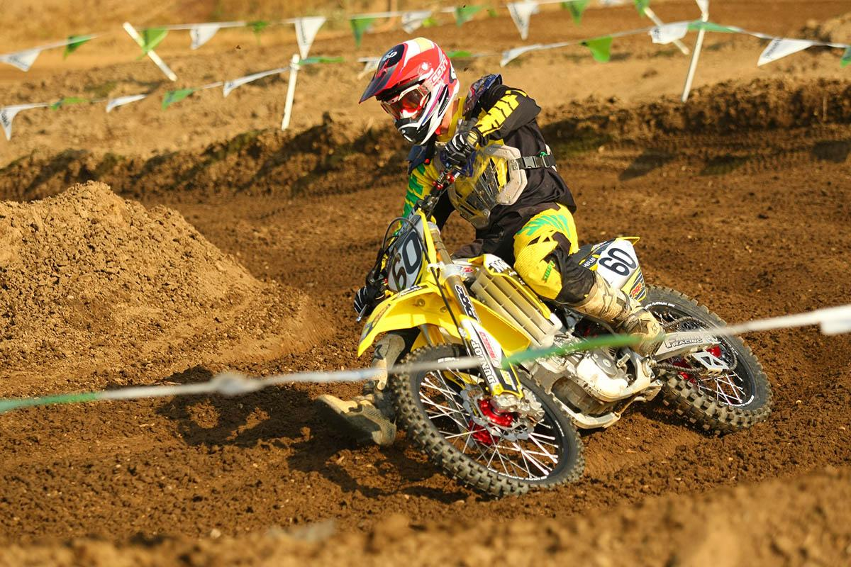 Former Yamaha Factory Rider Broc Hepler made a return to motocross racing at the KROC. Hepler was riding under the Farren Racing tent and was a perfect 1-1 in the 25+ Expert class.