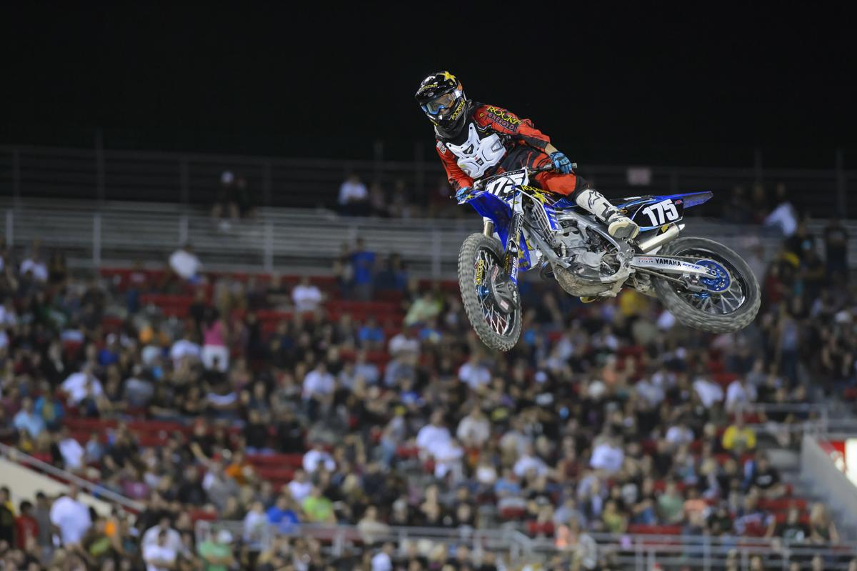 Cooper Webb was at the top of the class in the Amateur All-Stars.