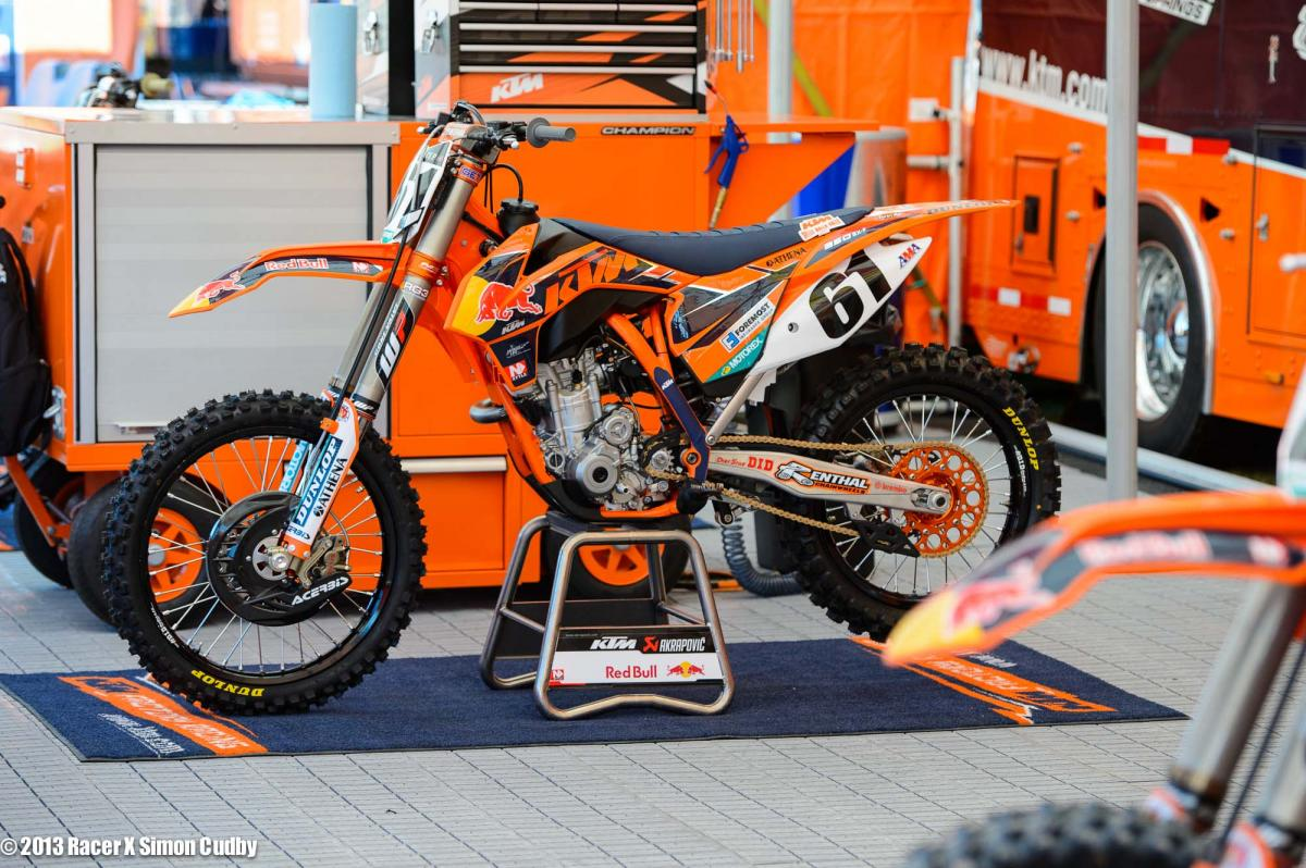 Austin Politelli full KTM factory this weekend