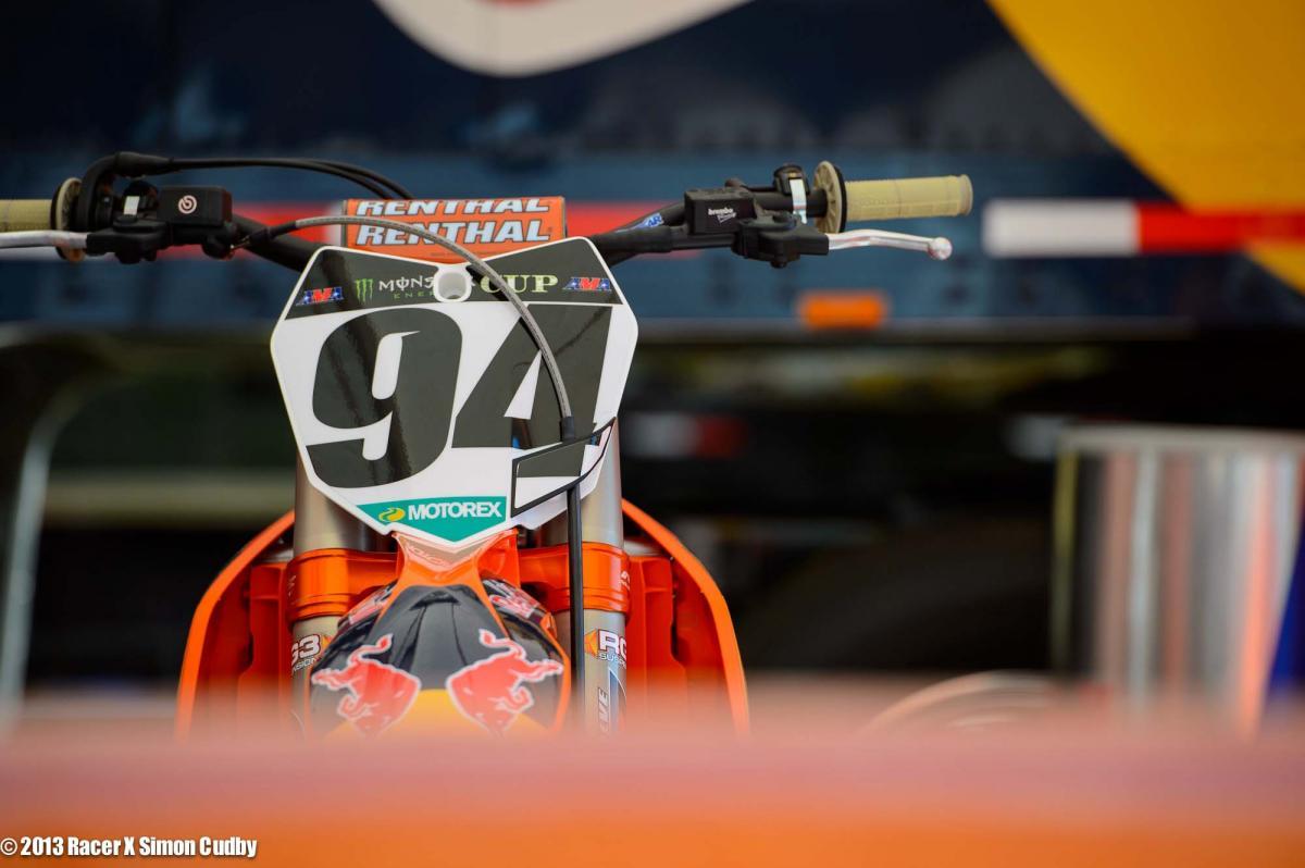 Ken Roczen's KTM 450