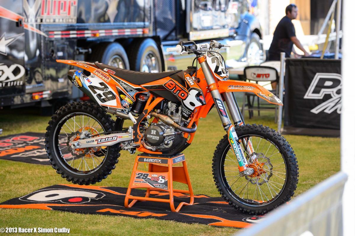Andrew Short's BTO KTM