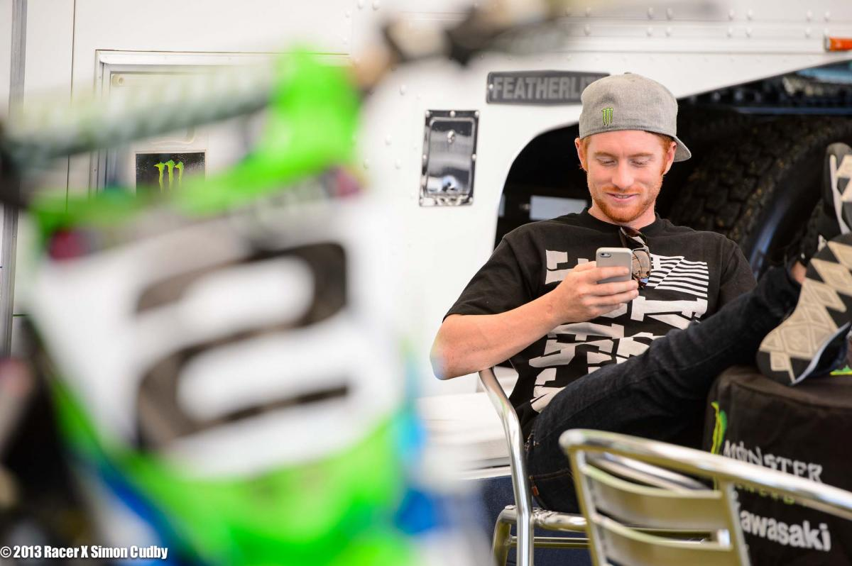 Ryan Villopoto gets a funny text
