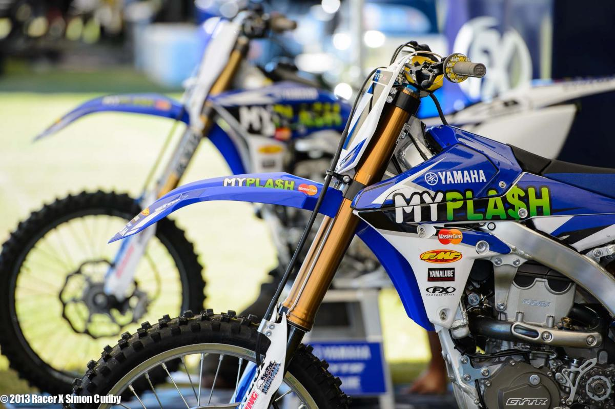 Cooper Webb's MYPLASH Yamaha