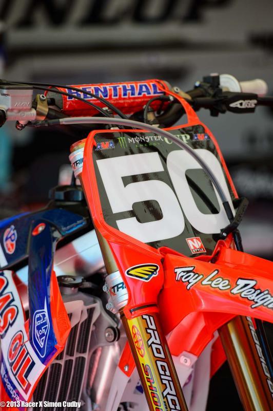 Jesse Nelson's TLD Honda